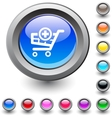 Add to cart round button vector image vector image