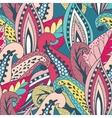 Beautiful vintage pattern vector image