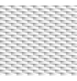 white seamless texture wavy background interior vector image