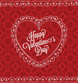 valentines card03 vector image vector image