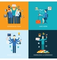 Teamwork and human resources vector image