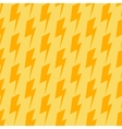 Lightnings seamless orange and yellow vector image