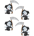 Reaper Pointing Forward vector image vector image