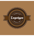 Vintage badge and label template vector image