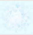 abstract poligonal background in blue and white vector image