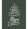 happy new year vector image