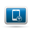 Phone with wireless icon vector image