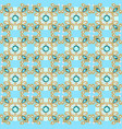 background seamless with pattern and gems vector image vector image