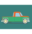 Vintage car Isolated vector image