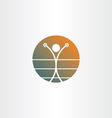 boxer boxing champion icon vector image