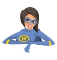 Super woman vector image