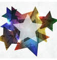 Grunge star Abstract Background vector image vector image