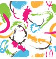splatter paint pattern vector image