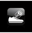 shoe sale icon vector image vector image