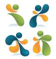 sports symbols vector image vector image