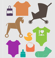 For Baby vector image