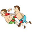boxing vector image