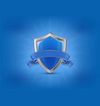 protection concept blue vector image