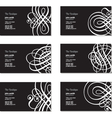 Buiness Cards vector image vector image