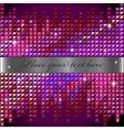 rhinestone mosaic background vector image vector image