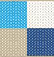 geometric herringbone on colored background vector image