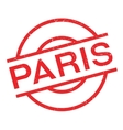 Paris rubber stamp vector image