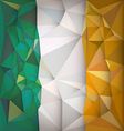 Stylized flag of Ireland vector image