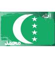 Comoros national flag vector image vector image