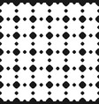 Polka dot seamless pattern rhombus vector image