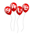 Sale Balloon Sign vector image