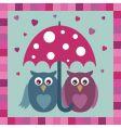 love owls vector image vector image