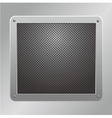 metallic plaque vector image vector image