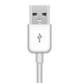 vector USB plug vector image