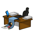 Office manager vector image