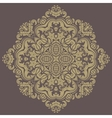 Damask Pattern Orient Background vector image