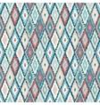 ethnic rhombus tribal seamless pattern vector image