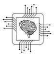 processor circuit with brain vector image