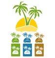 palm tree logo