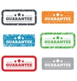 Guarantee sign icon Certificate symbol vector image