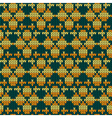 knitting fabric vector image