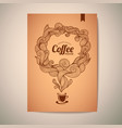 coffee concept design vector image