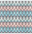 ethnic zigzag tribal seamless pattern vector image