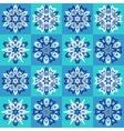 Ethnic Christmas seamless pattern vector image