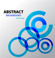 Background Abstract blue loading vector image