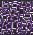 realistic smartphone background pattern vector image