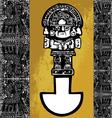 Tumi Inca iconography vector image