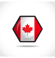 Canadian flag vector image