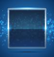 blue frame vector image