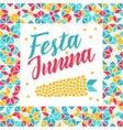 Festa Junina - Brazil Midsummer festival vector image