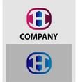 H Letter Logo Icon Design template Element vector image